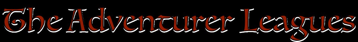 The Adventurer Leagues